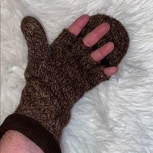 Outfitters Ridge Fingerless Gloves/Mittens HEAVY.